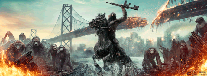 Dawn of Apes Banner